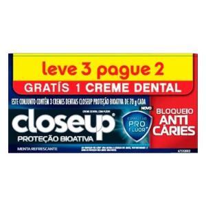 Creme dental Close Up 70gr lv3 pg 2 | R$2,99