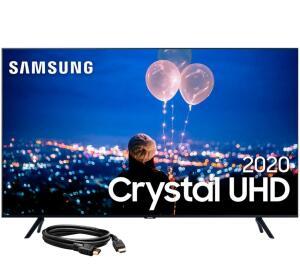 (APP+PIX) Samsung Smart TV 50'' Crystal UHD 4K + Cabo HDMI 1.4, High speed   R$2220