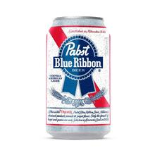Cerveja Pabst Blue Ribbon American Lager Lata 350ml | R$2,99