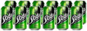 [C. OURO] Refrigerante Soda Lata 350ml 12 unidades (R$1,58 cada)   R$19