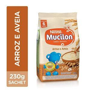 Cereal Infantil, Arroz e Aveia, Mucilon, 230g | R$2,49