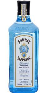 [2 unidades] Gin Bombay Sapphire London Dry 750 ml | R$75 cada