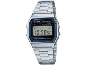 Relógio Unissex Digital Casio - Prata