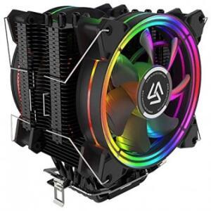 Cooler para Processador Alseye H120D V2.0, 120mm, RGB, Intel-AMD | R$190