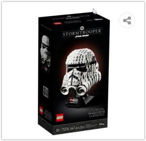 LEGO Star Wars TM Capacete de Stormtrooper 75276 – 647 Peças   R$ 398
