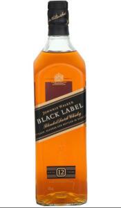 [2 unidades] Whisky Black Label 1 litro | R$115 cada