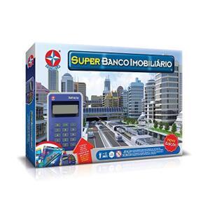 (PRIME) Jogo Super Banco Imobiliário Brinquedos Estrela | R$108