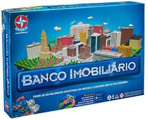 [Prime] Jogo Banco Imobiliário Brinquedos Estrela | R$67