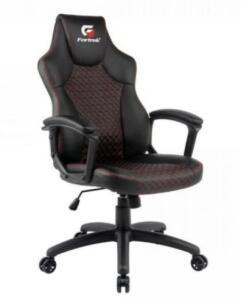 [App] Cadeira Gamer Holt Preta/Vermelha FORTREK | R$740
