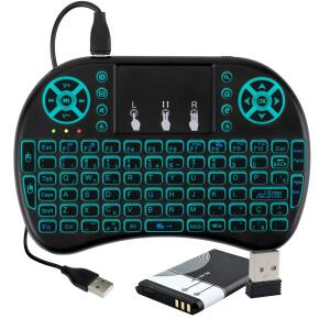 Mini Teclado Touchpad Sem Fio Usb (Smart Tv, Box ,Ps3, Xbox) | R$27