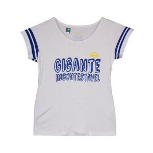 Blusa Cruzeiro Nation Juvenil Feminina - Branco - Infantil | R$9