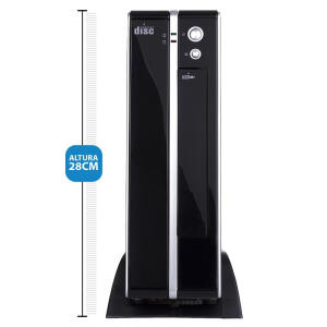 Computador Desktop Everex Intel Core i5 4GB 500GB Windows PRO | R$1159