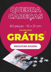 QUEBRA-CABEÇA GRÁTIS - 60 PEÇAS