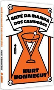 Livro Café da manhã dos campeões - Kurt Vonnegut | R$20