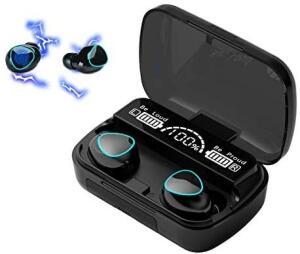 Fones de Ouvido XFTOPSE Bluetooth Sem Fio Intra-Auricular IPX7 | R$97