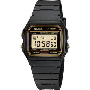 Relógio Masculino Casio Digital Vintage F-91WG-9QDF | R$ 118,05