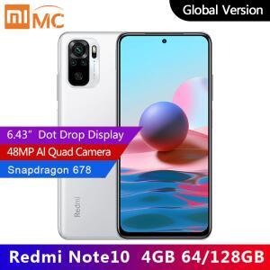 Smartphone Xiaomi Redmi Note 10 - 4GB+64GB | Global Version | R$ R$ 1.015