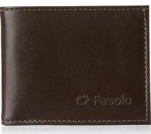 [PRIME] Carteira Masculina Couro Fasolo | R$ 32