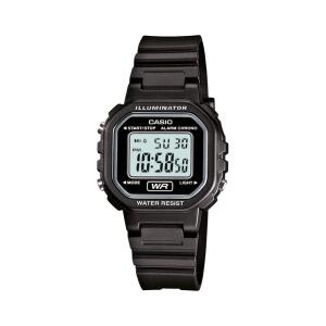 Relógio de Pulso Casio Standard Feminino Preto Digital LA-20WH-1ADF | R$ 130