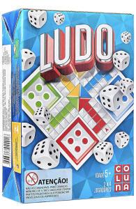 [PRIME] Jogo de Tabuleiro Ludo, Coluna, 2201, Multicor | R$12