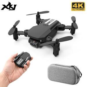 [Novos usuários] MINI drone Xkj 2021 Novo com Câmera 4K Wifi FPV | R$171