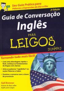 Livro - Guia de conversação inglês: para leigos | R$ 22