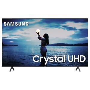 "Smart TV Samsung 55"" TU7020 Crystal UHD 4K 2020 Bluetooth Borda ultrafina Cinza Titan | R$2519"