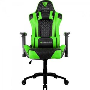Cadeira Gamer Profissional Tgc12 Preta/Verde Thunderx3 - Hayamax | R$1.234