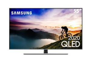 "Smart TV QLED 55"" 4K Samsung 55Q70T Pontos Quânticos | R$ 4.065"