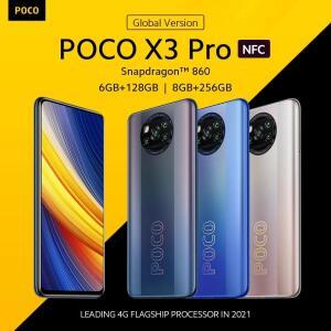 Smartphone Poco X3 PRO 6GB+128GB Snapdragon 860 | Global Version | R$1327,08