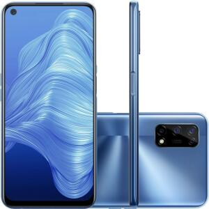 [APP] Realme 7 5G 128GB 5G Wi-Fi Tela 6.5'' Dual Chip 8GB RAM Câmera Quádrupla + Selfie 16MP - Flash Silver R$1799
