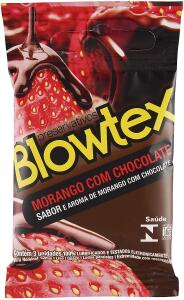 Preservativo Morango com Chocolate - Prime (9 unidades) R$8