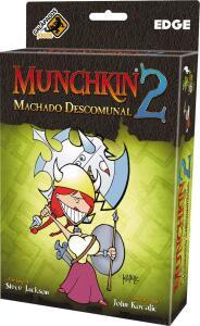 Munchkin 2 - Machado Descomunal - Expansão   R$50