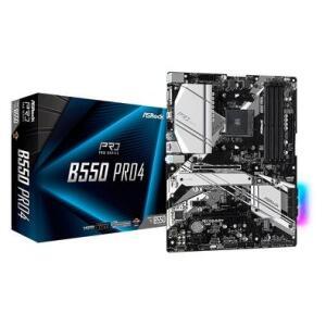 Placa-Mãe ASRock B550 Pro4, AMD AM4, ATX, DDR4 R$999