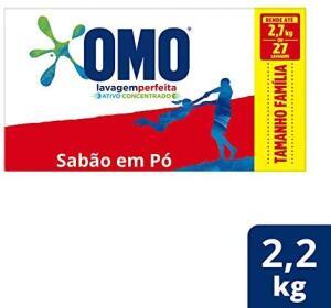 Sabão em Pó Omo Lavagem Perfeita 2.2kg