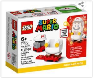 LEGO Mario Bros Pacote Power Up Mario de Fogo 71370 - 11 Peças | R$ 48