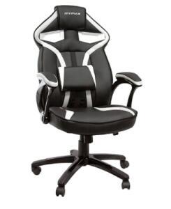 Cadeira Gamer Mymax Mx1 Giratória Preto/Branco | R$615