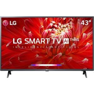 Smart TV Led 43'' LG 43LM6300 FHD Thinq AI Conversor Digital Integrado 3 HDMI 2 | R$1.799