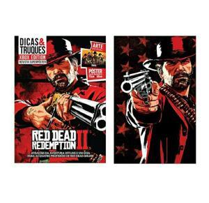 Livro Guia Red Dead Redemption 2 + Revista | R$86