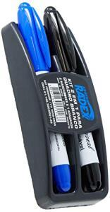 Radex APG-M, Apagador Quadro Kit com 2 Marcadores, Multicolor | R$18