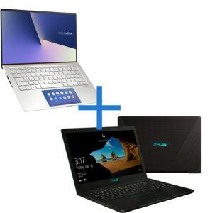 Notebook ASUS ZenBook UX434FAC-A6339T Prata Metálico + Notebook ASUS VivoBook X543UA-GQ3213T | R$6978