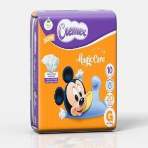 Fralda Descartável Cremer Disney Jumbinho G C/20 | R$8