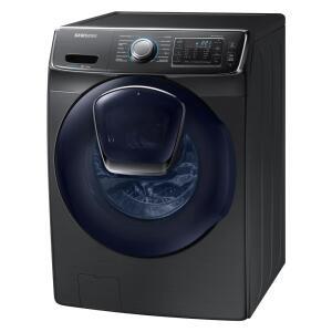Lavadora de Roupas Samsung AddWash com Motor Digital Inverter Black Stainless 15Kg - 127v | R$7528