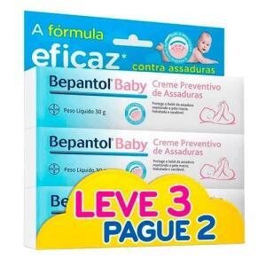 Kit Creme Para Assaduras Bepantol Baby 30g 3 Unidades |