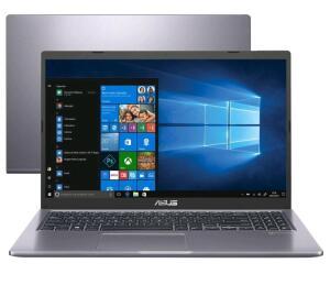 "[C. OURO] Notebook Asus M515DA-EJ502T AMD Ryzen 5 (3500U) 8GB - 256GB 15,6"" Full HD| R$3286"