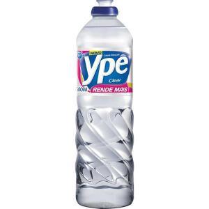 Detergente Líquido Clear Ypê 500ml Leve 24 Pague 22 | R$34