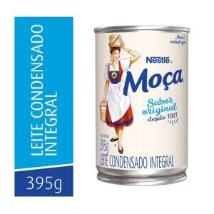 Leite Condensado Moça Integral Nestle Lata 395g | R$2,9