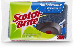 Esponja Anti-aderente Scotch-Brite | R$2,06