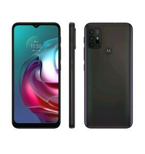 "(C/OURO) Smartphone Motorola Moto G30 128GB Dark Prism 4G - 4GB RAM Tela 6,5"" | R$1298"