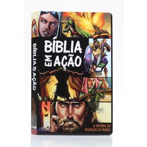Bíblia em Ação | A História da Salvação do Mundo | Quadrinhos | R$36